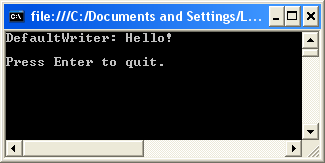 Output Without Override