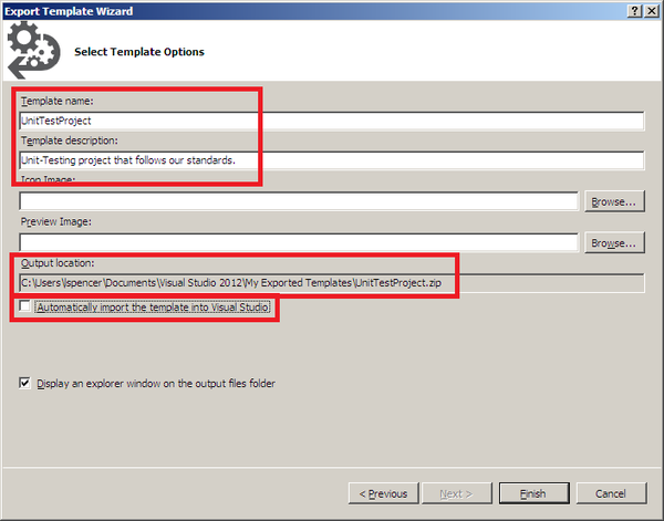 How to Create a Visual Studio 2012 Project Template - Part 1: The Basics